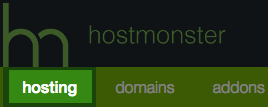 The hosting tab.