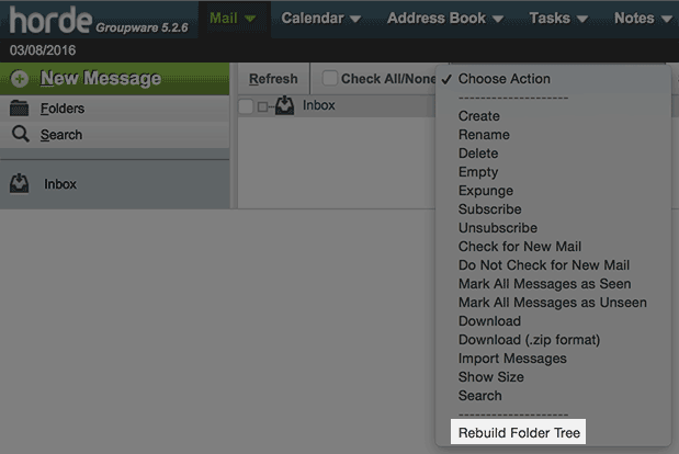 Subscribing to Mail Folders